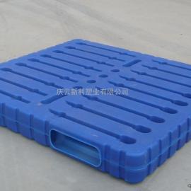黑、吉、辽托盘,吹塑1412托盘,双面托盘、蓝色塑料托盘