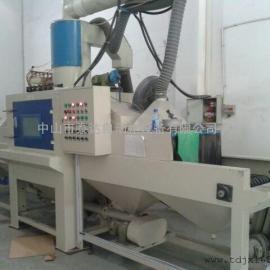 大�tong�xiu钢板材双面shu送全自动喷砂机