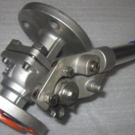 TFQ41f-16p法兰手动弹簧球阀AG官方下载、手动复位直通阀