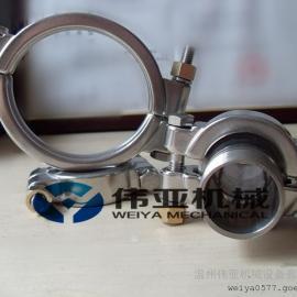 WY牌304不锈钢高压卡箍、高压卡箍承受的压力范围