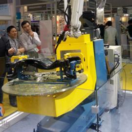 机器人焊接工作站,三维柔性组合焊接工装夹具,柔性工装夹具