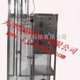 减压简易玻璃精馏装置