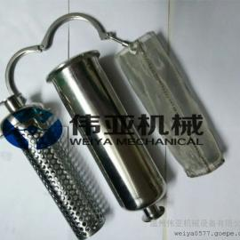 卫生级304快装直通管道过滤器价格优势