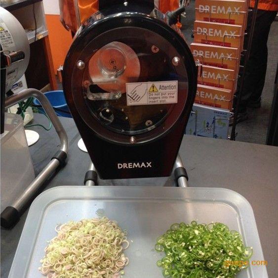 日本DREMAX进口切菜机 小辣椒切片机 切辣椒机
