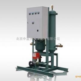 暖通空调机房冷冻循环水系统旁流水处理器