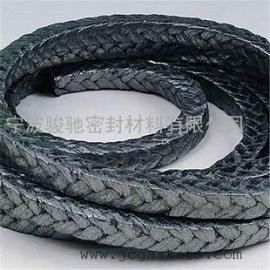 涂石墨陶瓷纤维盘根 骏驰出品耐高温涂石墨陶瓷纤维盘根