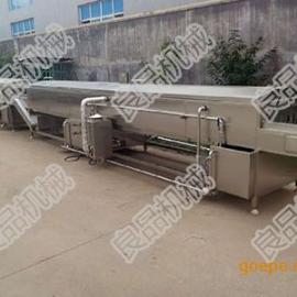 良品机械生产全SUS304不锈钢蔬菜漂烫冷却流水线