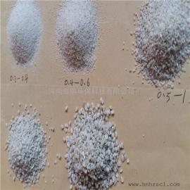 石英砂是我国目前使用***广泛的一种滤料,是双层滤池的材料。