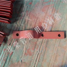 三螺栓管夹