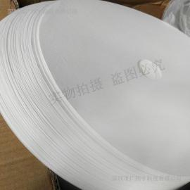 厂家直销350*60电镀滤纸 370g电镀机过滤纸 圆形滤纸