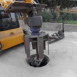 井盖铣刨机,0215井盖铣刨器,HCN屈恩机具市政铣刨井盖