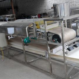 全自动多功能蒸汽凉皮机生产速度能调节操作更容易