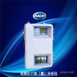 美国哈希CL17在线余氯分析仪
