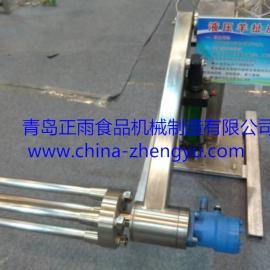 厂家直供YCJ-2型羊扯皮机 ,皮张完整无损坏,生产效率高