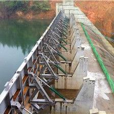 兴义混凝土翻板闸 都匀水力自控翻板闸 钢制液压翻板闸门厂家