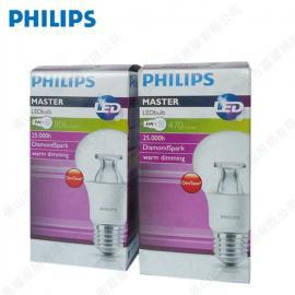 PHILIPS 飞利浦 MASTER LED 球泡 6W/9W E27 2700K 调光球泡