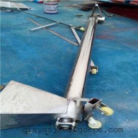 定制管式绞龙上料机 食品级螺旋提升机报价 多功能物料提升机