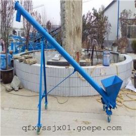 粉煤灰专用管式提升机 碳钢垂直螺杆上料机 散料绞龙输送机