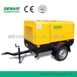 溧阳德耐尔柴油移动式空压机工厂//德耐尔空压机价格