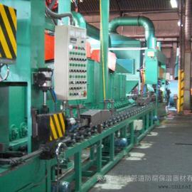 供应TJ076A系列汽车板簧抛丸清理(强化)机