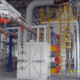 Q383系列悬挂输送式抛丸清理机 通过式抛丸清理机