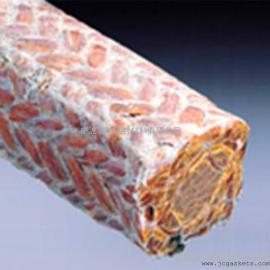 酚醛纤维盘根 骏驰出品耐磨浸四氟金芳纶纤维盘根