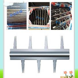 电除尘器对放电极芒刺线的基本要求