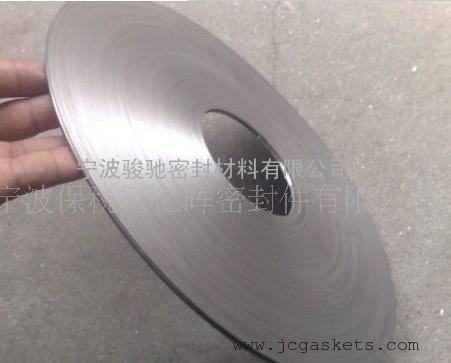 成型不锈钢带|骏驰出品缠绕垫片用原料W型成型不锈钢带