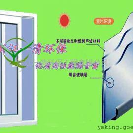 隔音窗隔声窗高性能隔声材料隔声量高优质降噪产品