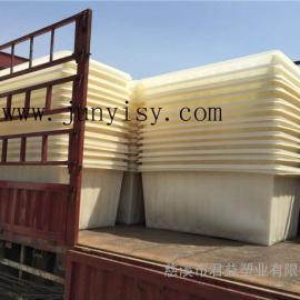 K-1400升布料方形内胆 厂家定做印染塑料内胆