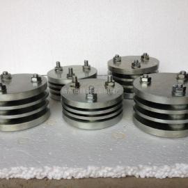 压缩永久变形测试仪高度12.5mm,压缩永久变形装置高6.3mm