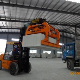 供应襄阳凌瑞4.5吨加气砖夹加气块抱砖机夹砖机装砖机