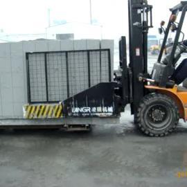 供应襄阳凌瑞3吨加气砖抱砖机加气砖夹加气块抱砖机
