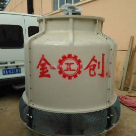 优质JC系列金创圆型逆流式玻璃钢冷却塔生产厂家