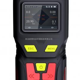 供应多功能LB-MS4X泵吸四合一多气体检测仪