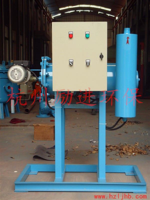 旁流水处理器选型及安装使用