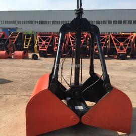 XZ3单绳抓斗 亚重0.3立方重型单绳悬挂抓斗 水下抓斗泥土抓斗