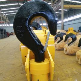 亚重QD双梁桥式起重机起升机构单钩半封单钩,20T铸钢滑轮本地钩&
