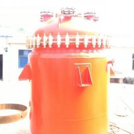 *制造搪瓷反应釜 电加热反应釜蒸汽釜K2000L