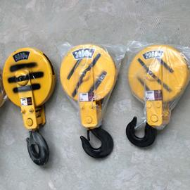 亚重10T双滑轮式葫芦吊钩钢丝绳绳φ15mm,丝φ0.7mm,单梁天车用