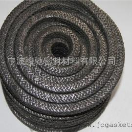 硅酸铝陶瓷盘根 骏驰出品耐高温油浸硅酸铝陶瓷纤维盘根