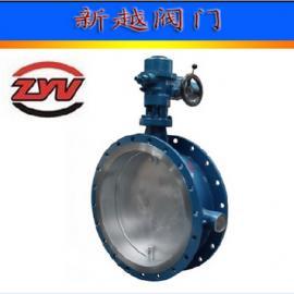 大口径电动通风蝶阀 D941W ―1C 耐磨尘气,烟气阀门