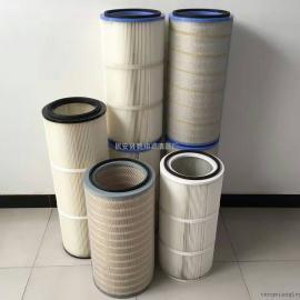 腾翔扫路车除尘滤筒 除尘滤芯 材质:聚酯纤维无纺布
