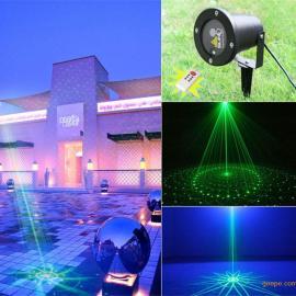 LED户外草坪灯、户外激光灯、激光草坪灯—LBS镭贝森光电厂家