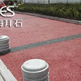 商丘海绵城市彩色透水地坪/彩色透水地坪施工