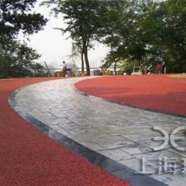供应黔东人行道彩色混凝土/彩色艺术地坪生产厂家
