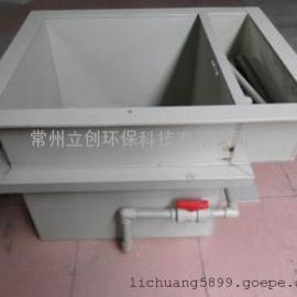 加工定做电镀槽塑料化工槽防腐槽PP电解槽