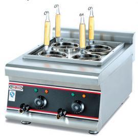 杰冠EH-488台式煮面炉 四头电热煮面机