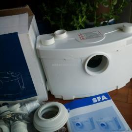 法国SFA地下室污水排放方法 卫生间污水提升器设备 污水提升泵SANI-3