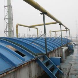 污水池集气罩(污水池加盖 玻璃钢盖板)